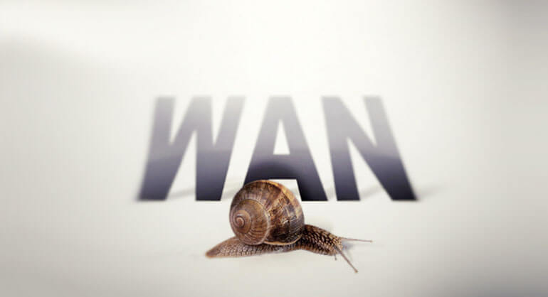 WAN slow connections
