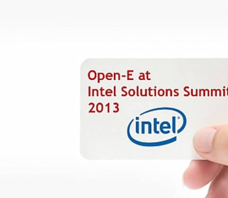 Open-E at Intel Solutions Summit 2013