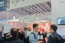 Open-E booth at CeBIT 2014