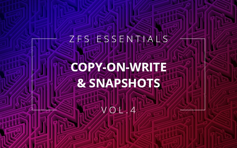 Copy-on-write and snapshots