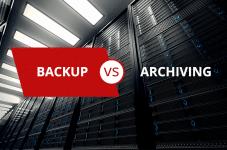 Backup vs. Archiving