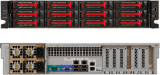 ACES Direct Rackserver Open-E Unified Storage 15TB O2212iR14#01C15