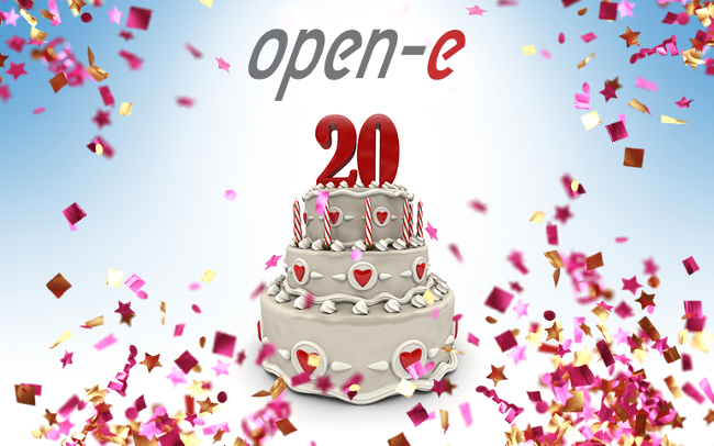 Happy Birthday, Open-E!