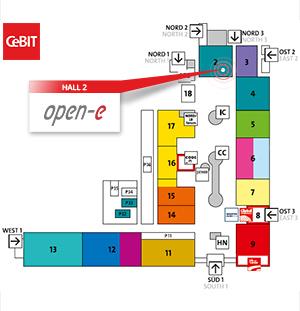 CeBIT map