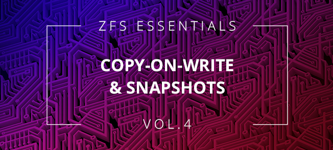 ZFS article series - part 4