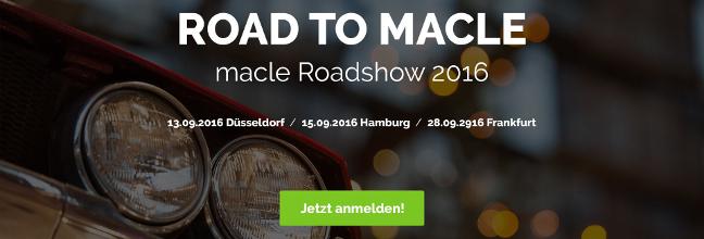 macle Roadshow 2016