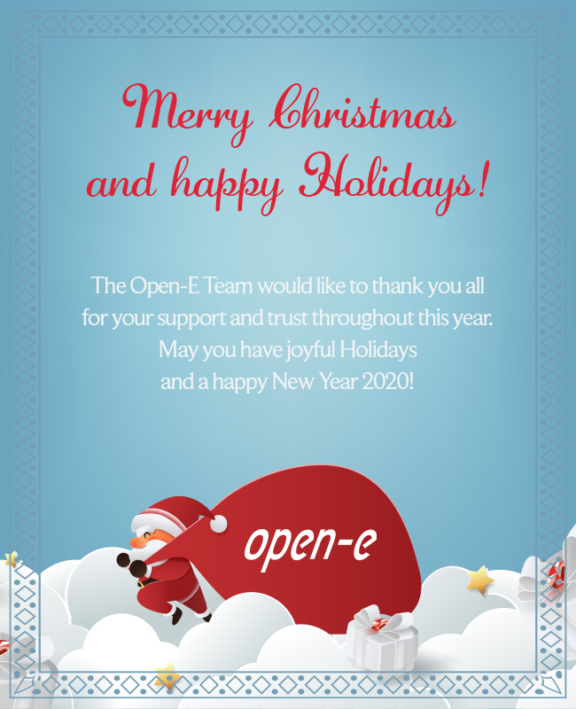 Merry Christmas from the Open-E Team