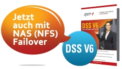Open-E DSS V6 mit NAS (NFS) Failover