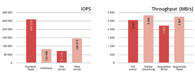 IOPS / Throughput