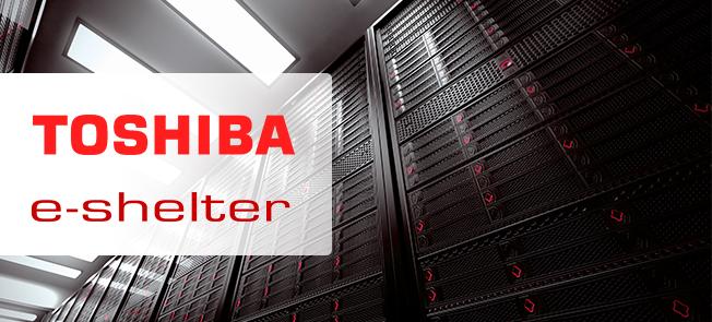 Toshiba, e-shelter and Open-E Case Study