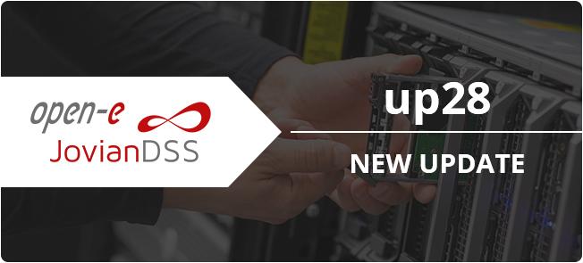 Open-E JovianDSS update 28