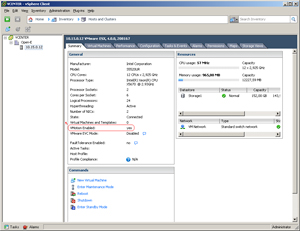 Manual for VMware, VMotion and DSS V6