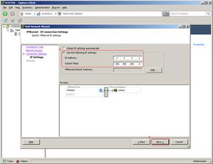 Manual for VMware, VMotion and DSS V6