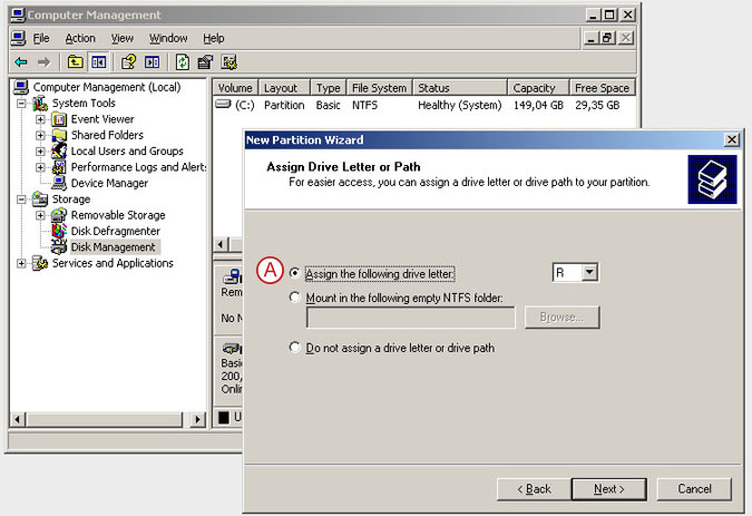 Connect to a DSS V6 iSCSI Target volume from a MS Windows - Initialize the disk from iSCSI target - pic 19