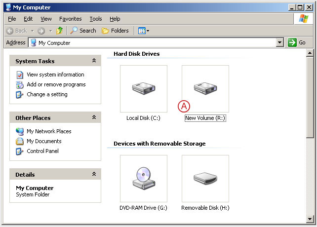 Connect to a DSS V6 iSCSI Target volume from a MS Windows - Accessing to the disk - pic 22