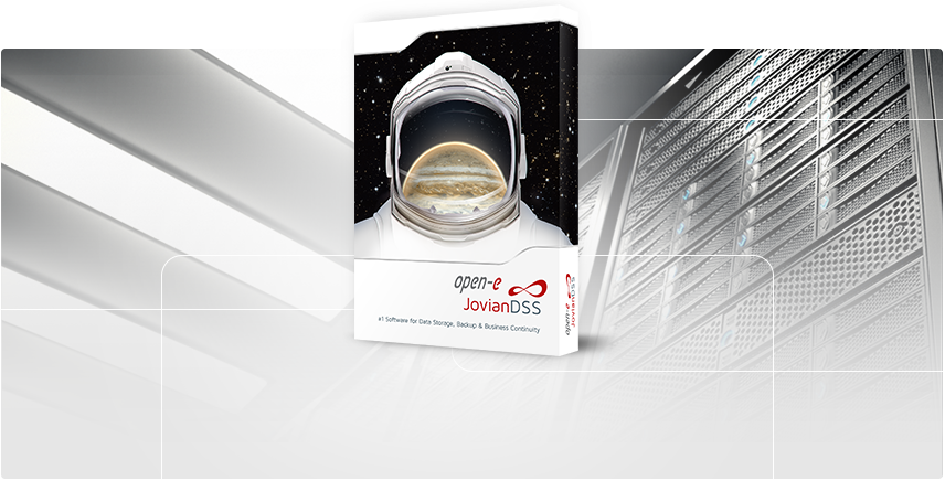 Open-E JovianDSS - #1 Software for Data Storage, Backup & Business Continuity